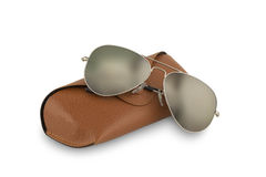 czarne okulary przeciwsłoneczne Zdjęcie Royalty Free
