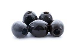 Czarne oliwki Zdjęcie Stock
