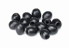 czarne oliwki Zdjęcia Stock