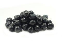 czarne oliwki Fotografia Royalty Free