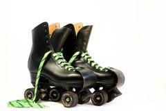 czarne rollerskates Fotografia Royalty Free
