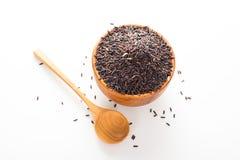 czarne ryżu Fotografia Royalty Free