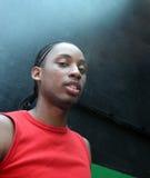 czarne wspaniałych ludzi młodych portret obraz stock