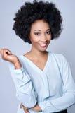 czarnego Afrykanina bizneswoman Fotografia Stock