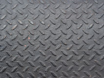 Czarnego diamentu stalowy talerz Obraz Royalty Free