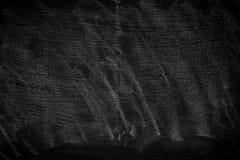 Czarnego grunge brudna tekstura z copyspace Abstrakt kreda nacierał za blackboard lub chalkboard tle na Tapeta z pustym obraz royalty free