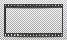 Czarnego grunge horyzontalny ekranowy pasek z cieniem jest na ciosowym popielatym tle r?wnie? zwr?ci? corel ilustracji wektora royalty ilustracja