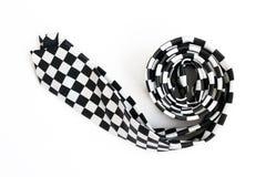czarnego krawata biel Zdjęcia Royalty Free