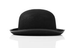 Czarnego tophat odgórny kapelusz Zdjęcia Royalty Free