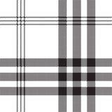 Czarnej białej czeka piksla kwadrata tkaniny tekstury bezszwowy wzór Obraz Stock