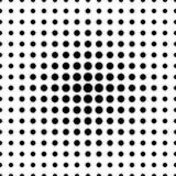 Czarnej drobiny bezszwowy wzór Zdjęcie Stock