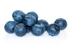 Czarnej jagody heathberry odizolowywający na białym tle Obrazy Royalty Free