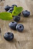 Czarnej jagody owoc Zdjęcia Royalty Free