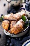 Czarnej jagody ręki kulebiaki Obraz Royalty Free