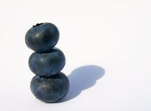 czarnej jagody sterta Zdjęcia Stock