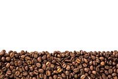 Czarnej kawy rama Zdjęcia Royalty Free