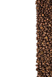 Czarnej kawy rama Obraz Royalty Free