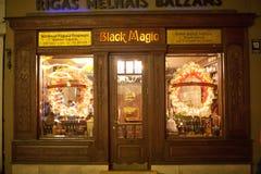'Czarnej magii' bufet w Ryskim Zdjęcia Stock