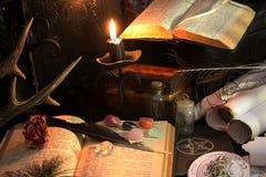 Czarnej magii rytuał Obraz Stock