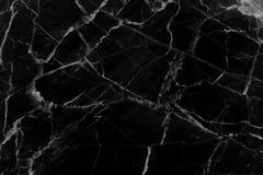Czarnej marmuru wzoru tekstury naturalny tło zdjęcia royalty free