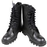 Czarni żołnierzy buty Obraz Royalty Free