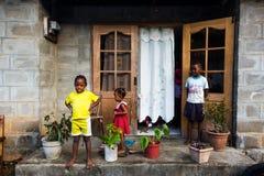 Czarni dzieci Fotografia Royalty Free