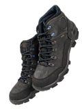 Czarni sportów buty Fotografia Stock