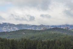 Czarni wzgórza Sceniczni Fotografia Stock