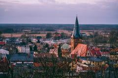 Czarnków. A city in Poland Royalty Free Stock Image