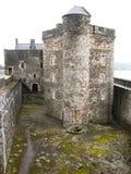 czarno 2 zamku Fotografia Royalty Free