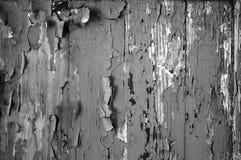 Czarno biały brzmienie abstrakcjonistyczna tekstura strugająca farba dla tło tapety, Fotografia Royalty Free