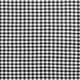 Czarno biały w kratkę płótno Fotografia Royalty Free