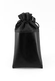 czarno białe odosobnione torby Zdjęcia Royalty Free