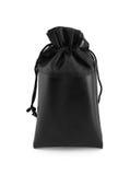 czarno białe odosobnione torby Fotografia Stock