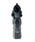 czarno broń kaliber 9 mm, obraz stock