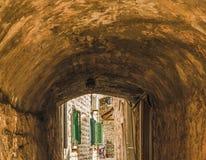 Czarnogóra budva starego miasta Pierwszy wzmianka ten miasto - więcej niż 26 wieków temu Zdjęcia Stock