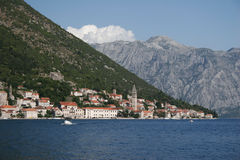 Czarnogóra herceg novi Zdjęcia Royalty Free