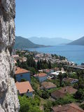 Czarnogóra herceg novi Zdjęcie Royalty Free