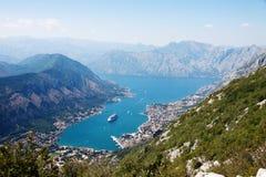 Czarnogóra kotor Zdjęcia Royalty Free
