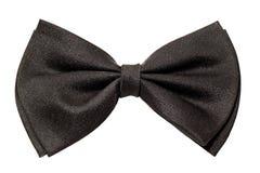 czarny łęku męski krawat Obraz Royalty Free