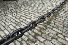czarny łańcuch Zdjęcie Royalty Free