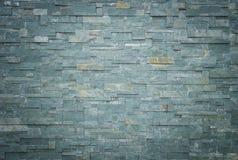 Czarny łupek ściany tło i tekstura Obrazy Royalty Free