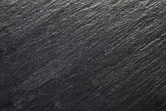 Czarny łupkowy tło Zdjęcia Royalty Free