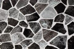 czarny ściana z cegieł Zdjęcie Stock