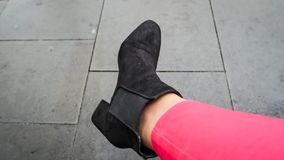 czarny but Obrazy Royalty Free