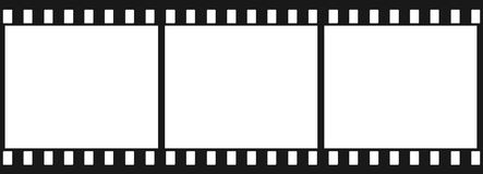 czarny 3 płaski obraz Zdjęcie Royalty Free