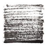 Czarny abstrakcjonistyczny tło z gęstymi uderzeniami ilustracja wektor