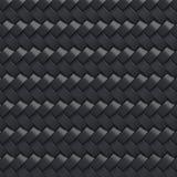 Czarny abstrakt płytki tło 3d Obraz Royalty Free