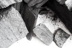 Czarny abstrakt textured skład na białym tle Zdjęcie Stock