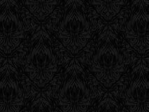 Czarny abstrakta wzór royalty ilustracja
